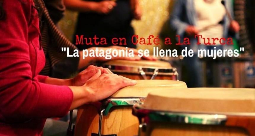 Mujeres y tambores le ponen música a la Patagonia