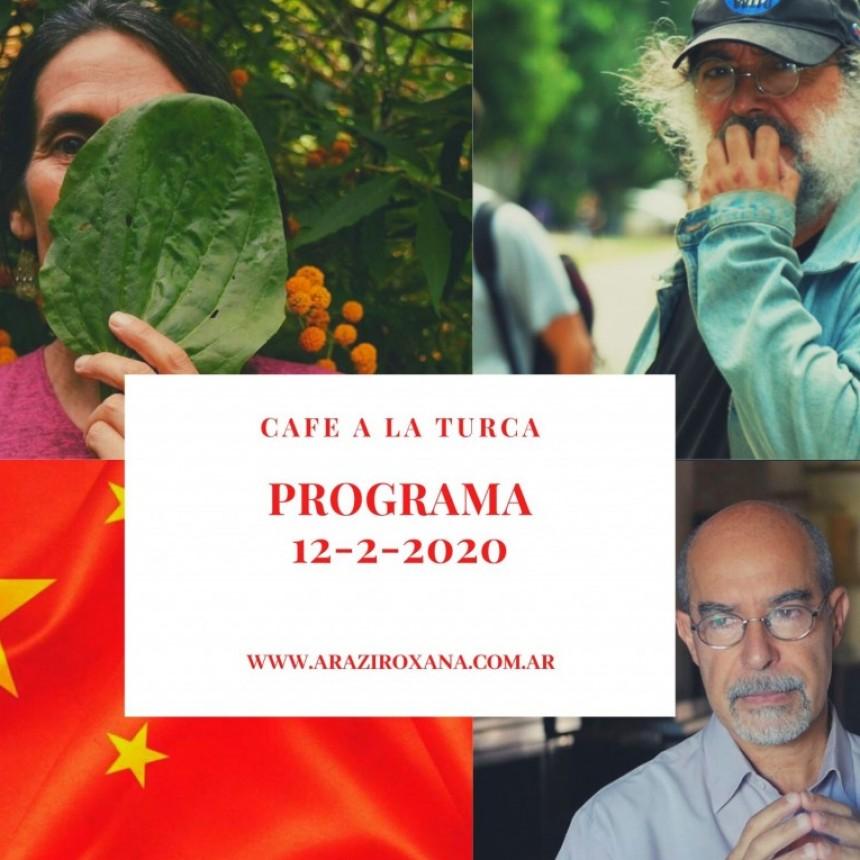 Café a la Turca, miércoles 12 de febrero 2020.