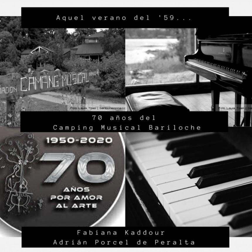 70ª Aniversario del Camping Musical Bariloche: su historia y presente