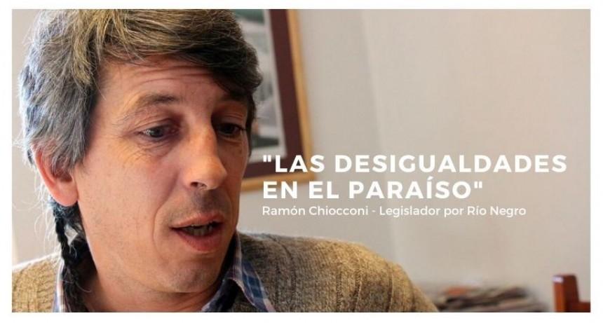 Entrevista al Legislador por Río Negro (FdT), Ramón Chiocconi