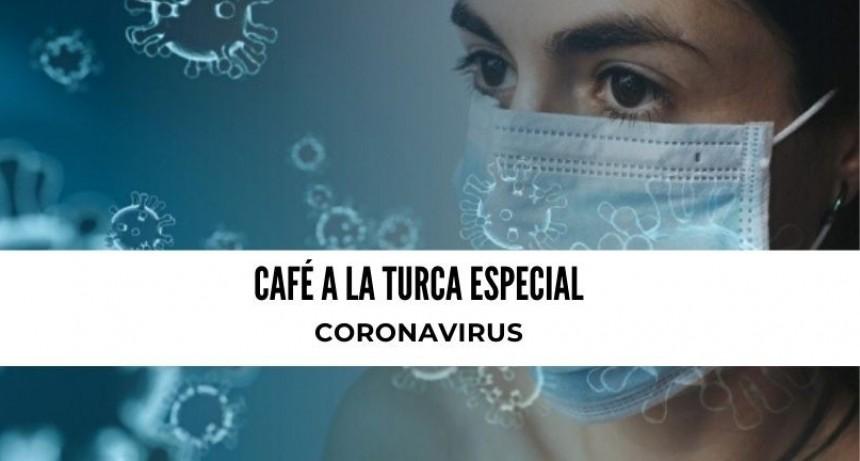 Café a la Turca, miércoles 18 de marzo 2020 / Especial Coronavirus