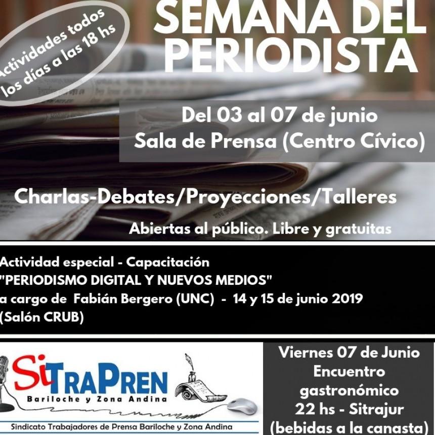 Semana del Periodista en Bariloche