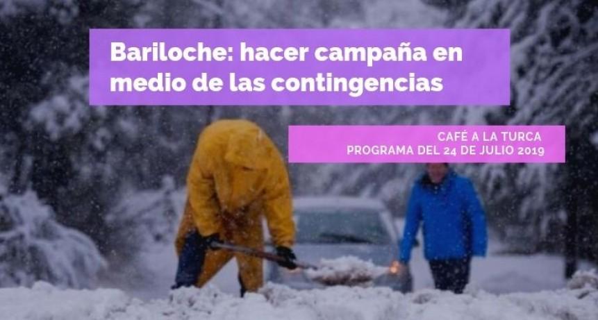 Bariloche: hacer campaña en medio de las contingencias