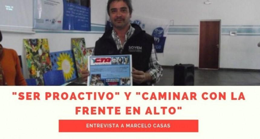 Marcelo Casas: candidato a 2do concejal por el Frente de Todos Bariloche