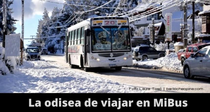 Depender del servicio de transporte urbano de pasajeros en Bariloche