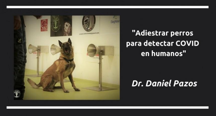 Entrevista al Dr. Daniel Pazos, Director de la Escuela de Adiestramiento Canino de la UBA