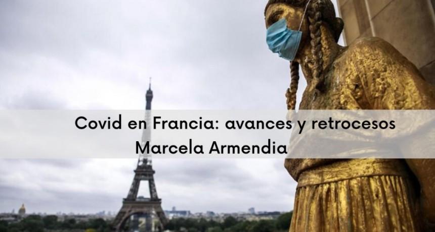 Vivir la pandemia por Covid19 en Francia / Marcela Armendia