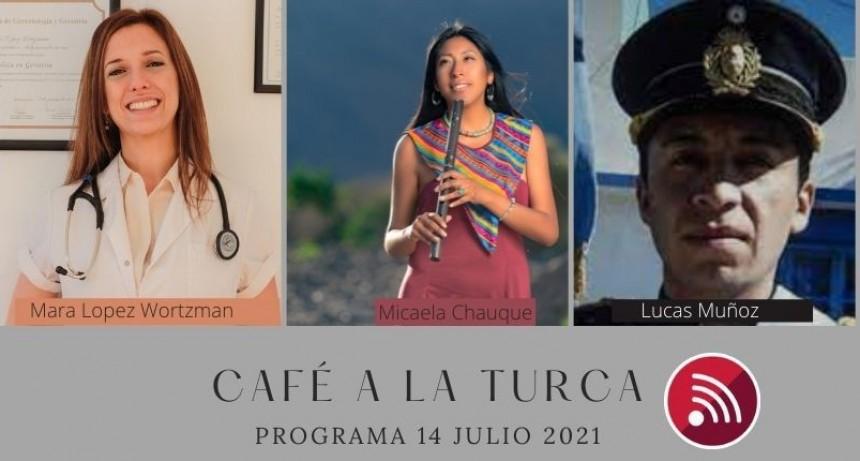 Café a la Turca, 14 de julio 2021. Otros temas, otro abordaje!!