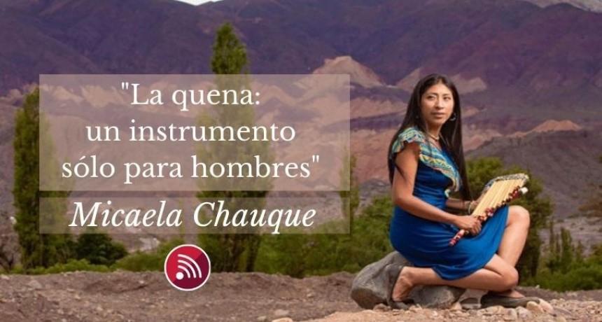 Micaela Chauque: primera mujer jujeña en ejecutar la quena