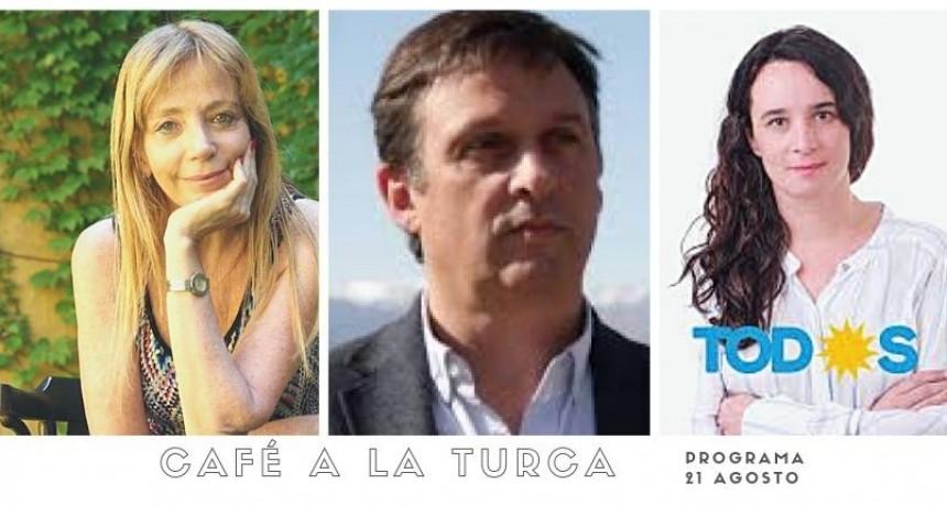 Café a la Turca, miércoles 21 de agosto 2019