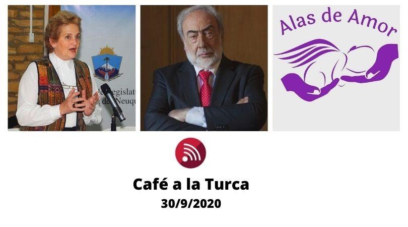 Café a la Turca 30 de septiembre 2020. Otros temas, otro abordaje.