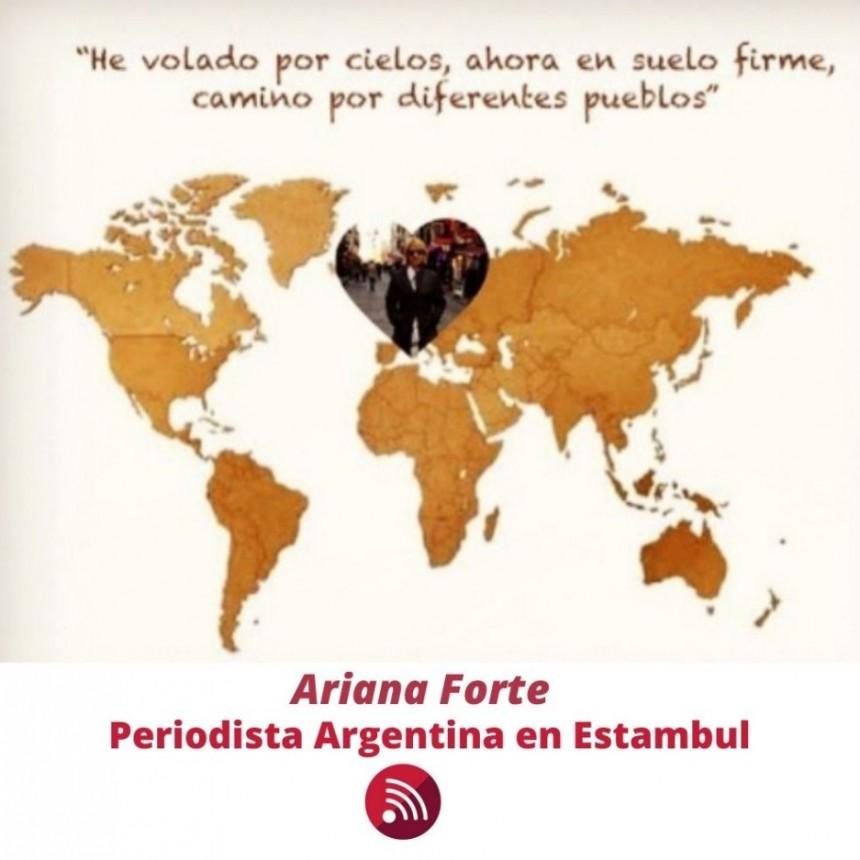 Periodista desde el medio del mundo