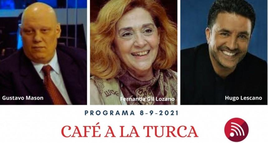 Café a la Turca, 8 de septiembre 2021. Otros temas, otro abordaje!!