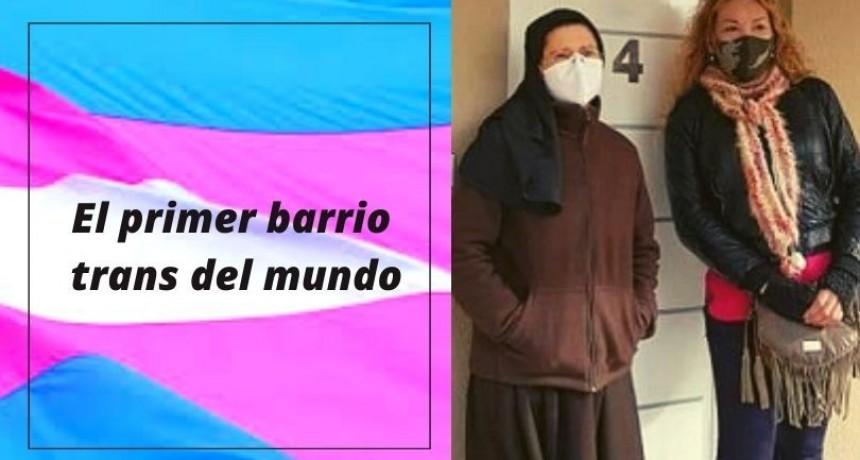 El primer barrio trans del mundo es argentino y fue impulsado por una monja