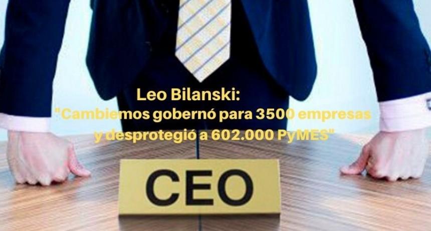 Entrevista a Leo Bilanski, presidente de ENAC, organización que nuclea a las pymes.