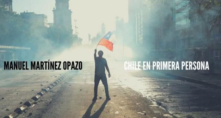 Chile en primera persona:  Manuel Martínez Opazo en Café a la Turca.