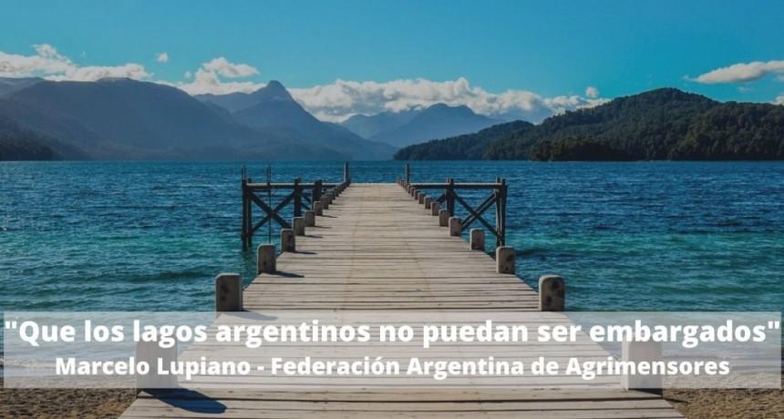Inembargabilidad y dominio público para todos los lagos argentinos