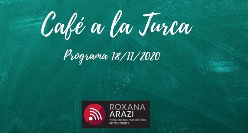 Café a a Turca  18 de noviembre 2020. Otros temas, otro abordaje.
