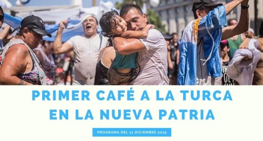 Café a la Turca 11 de diciembre 2019